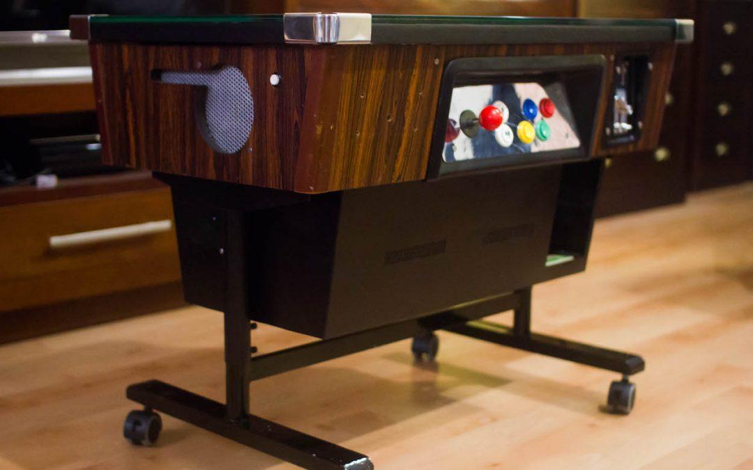 Rehabilitacion maquina arcade80′